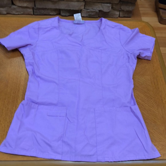 Pretty scrub top